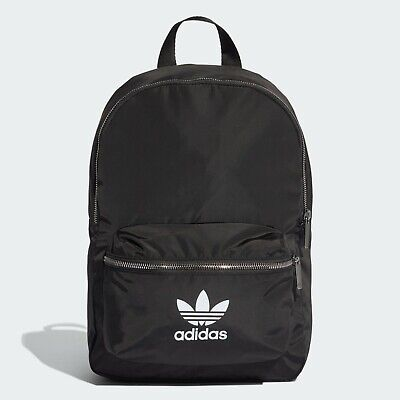Adidas Originals Nylon Backpack Casual Bag Unisex Backpack School Black ED4725