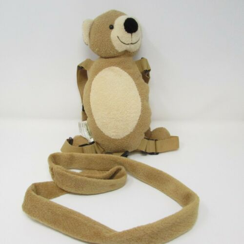 Eddie Bauer Teddy Bear Child Harness Leash Pocket Adjustable Safety Back Pack