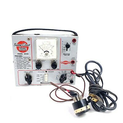 As-is Vintage Sencore Tester Tv Sweep Circuit Ss105 Trouble Shooter Cathode