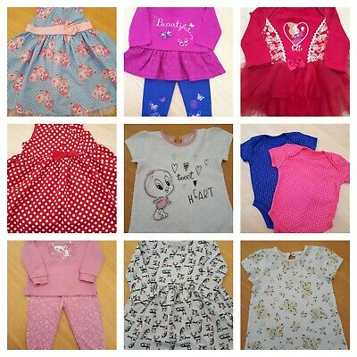 BABY GIRL CLOTHES 12- 18 Months - Make your own bundle  (Combined P&P)