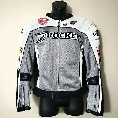 JOE ROCKET Men's Gray UFO 2.0 Mesh Motorcycle Jacket with Armor Size: Small S Ufo 2.0 Jacket