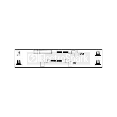 Genuine ElectroSpark Ignition Cable Kit - OEK419