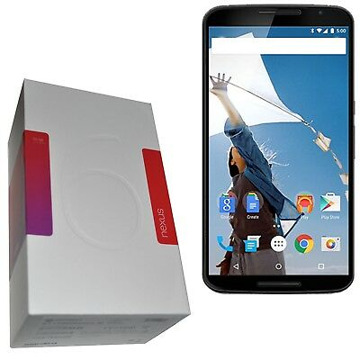 BNIB Motorola Google Nexus 6 XT1100 32GB Grey/White Factory Unlocked 4G SIMFree