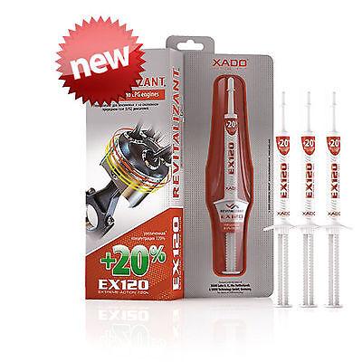 Xado 3 EX120 Dose Benzin/LPG Öl-additiv Motor Restaurierung Behandlung Save ()