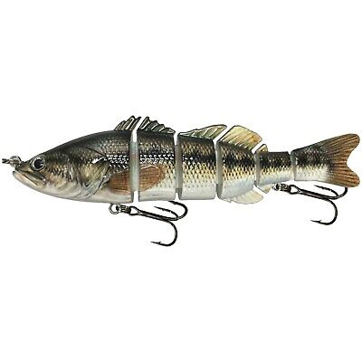 """P2 Pumpkinseed KDS Custom Slow Sinking Jointed 4.5/"""" Multi Section Swimbait"""