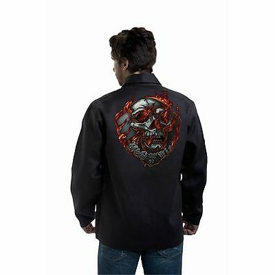 Tillman 9062 Weld Or Die Black Onyx Welding Jacket - 2xl