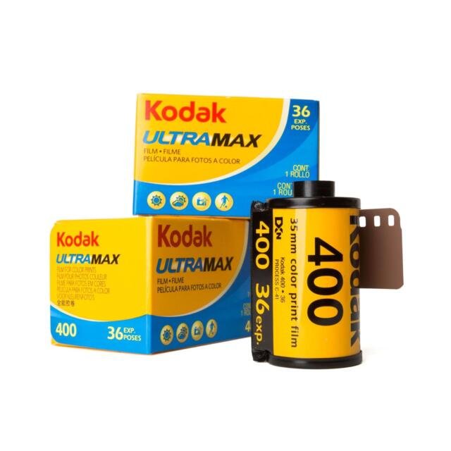 3x Kodak Ultramax Ultra Max 400 135-36 Farbfilm Kleinbildfilm