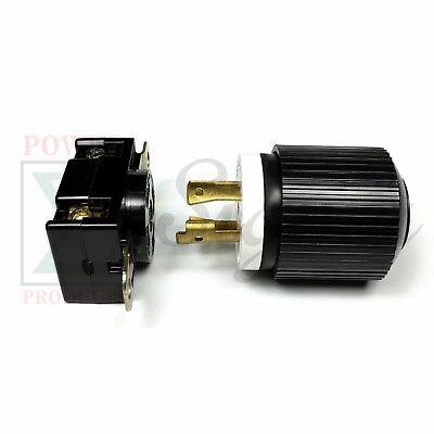 Generator RV AC Plug & Socket L14-30 30 AMP 120V 220V Male & Female Receptacle