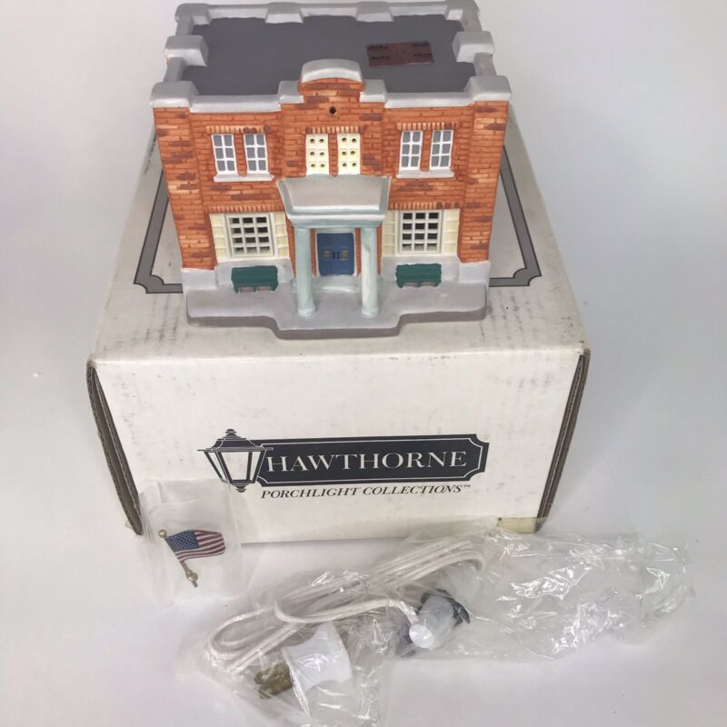 Hawthorne1993 Mayberry Village Courthouse Andy Griffith Show Lights Up  #79721