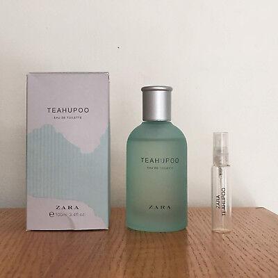 Zara Teahupoo Eau de Toilette - 10ml in Glass Atomizer