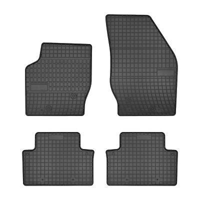 5 Teilig Fußmatten VOLVO XC90 Original Qualität Design Ziernaht Velours Premium