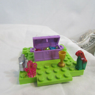 Friends Treasure Box - Lego Friends Treasure box jewels Parrot and more