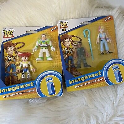 Toy Story Fisher Price Imaginext Toy Story 4 Deluxe Figure Pack Stocking Stuffer