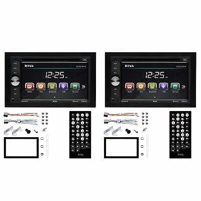 Boss Audio 320W Double DIN In-Dash Car Reciever w/ 6.2 Inch Touchscreen (2 Pack)