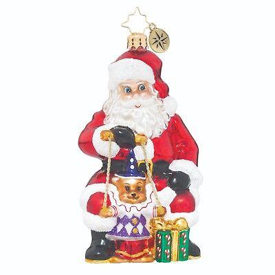 [Christopher Radko Ornaments - SANTA PUPPETEER Christmas Ornament 1019097 Santa</Title]
