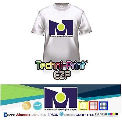 Laser Iron On Transfer Paper Technitprint Ezp 8.5 X 11 50pk 1 Seller