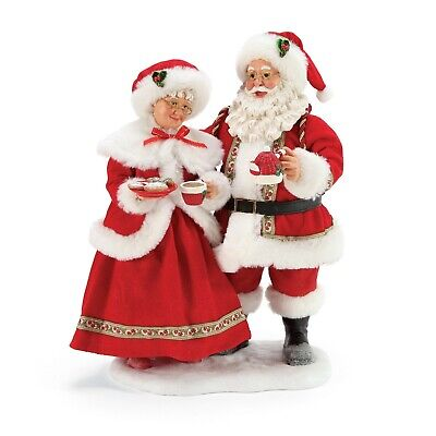 [Dept 56 NEW 2020 Possible Dreams Santa Cocoa and Cookies 6005278</Title]