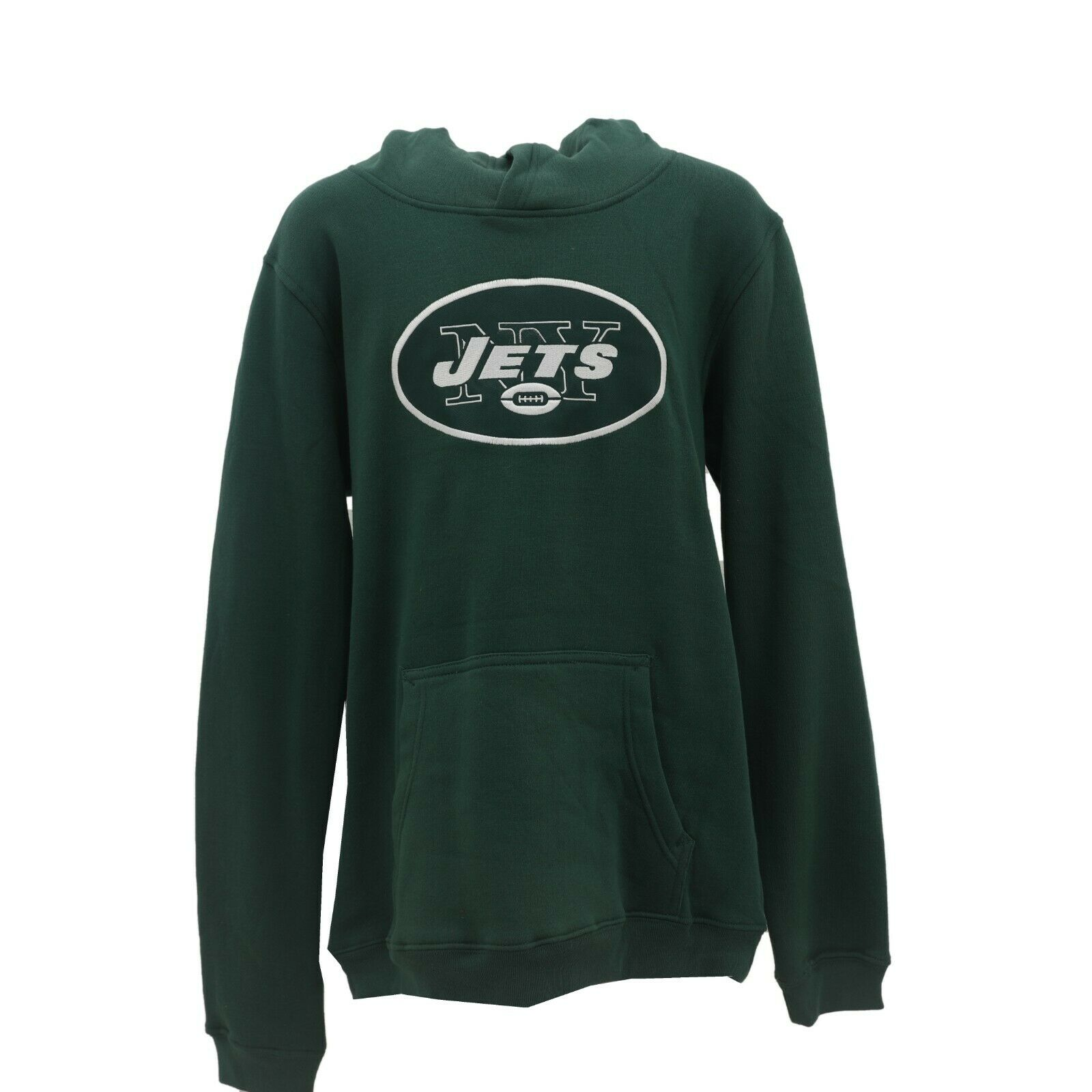 New York Jets Official NFL Apparel Kids Youth Size Hooded Sweatshirt