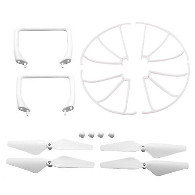 Replacement Parts Set Propellers Guards Landing Gear for Cheerwing CW4 RC Drone