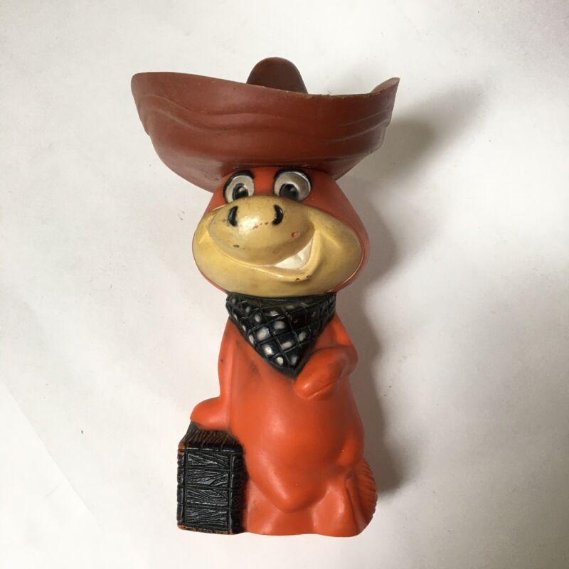 Large Knickerbocker Cowboy Sombrero Hat  Plastic Bank 1950s
