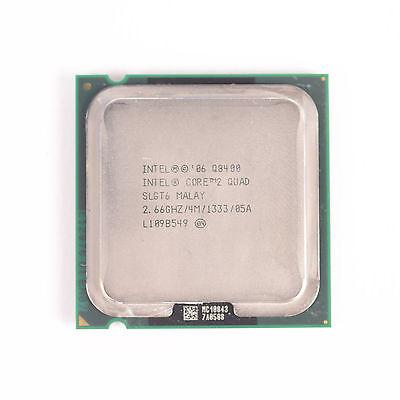 Intel Q8400 Core 2 Quad SLGT6 2.66GHz 4M Cache 05A LGA775 CPU Processor  comprar usado  Enviando para Brazil