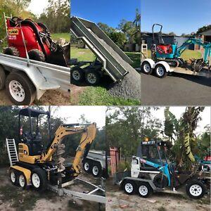 Mini Excavator Hire $185 per day 🔥auger 🔥grab🔥hammer