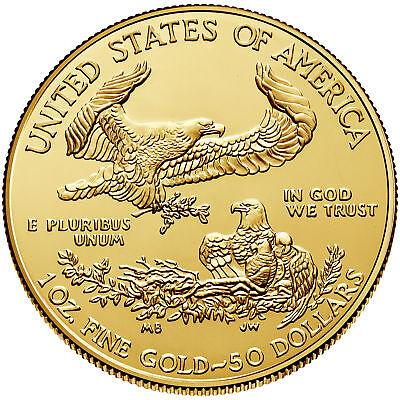 Изображение товара $50 1oz Gold American Eagle (Random Date) BU