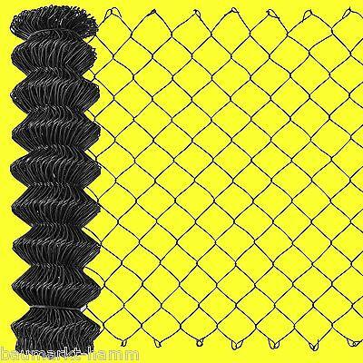 maschendrahtzaun-rolle ANTHRACITE-BLACK 15 Meter 125 cm Wire Mesh Fence