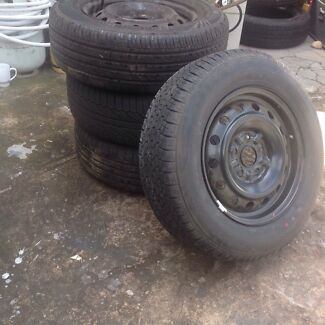 15 inch Toyota Camry stockies n tyres Granville Parramatta Area Preview