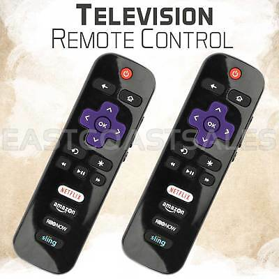 2 For Rc280 Led Hdtv Remote Control Tcl Roku Tv With Hbonow Sling Netflix Amazon
