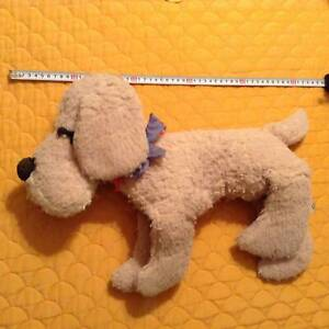 #1  Vintage Stuffed doll big cuddly sleeping  dog  Over 56 years old Cleveland Redland Area Preview
