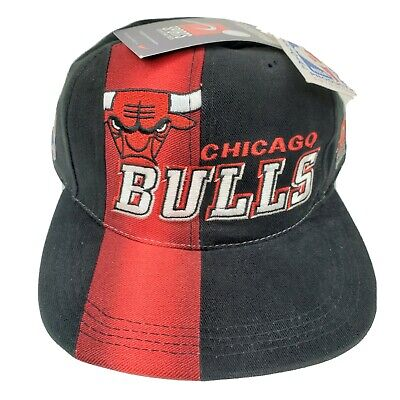 Vintage 1997 Chicago Bulls NBA Draft Cap Sports Specialties Snapback Hat NWT