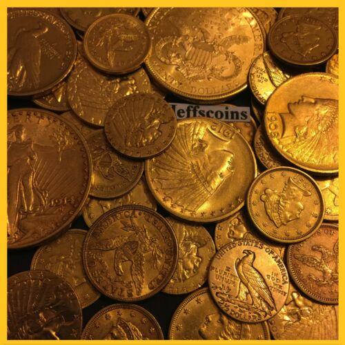 ✯ESTATE SALE OLD US GOLD COINS ✯1 PIECE LOT✯ $2.5 $5 $10 ✯ P,S,D,CC ✯PRE-1933✯