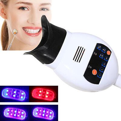 Dental Teeth Whitening Led Lamp Bleaching Accelerator Blue Purple Red Light 3c