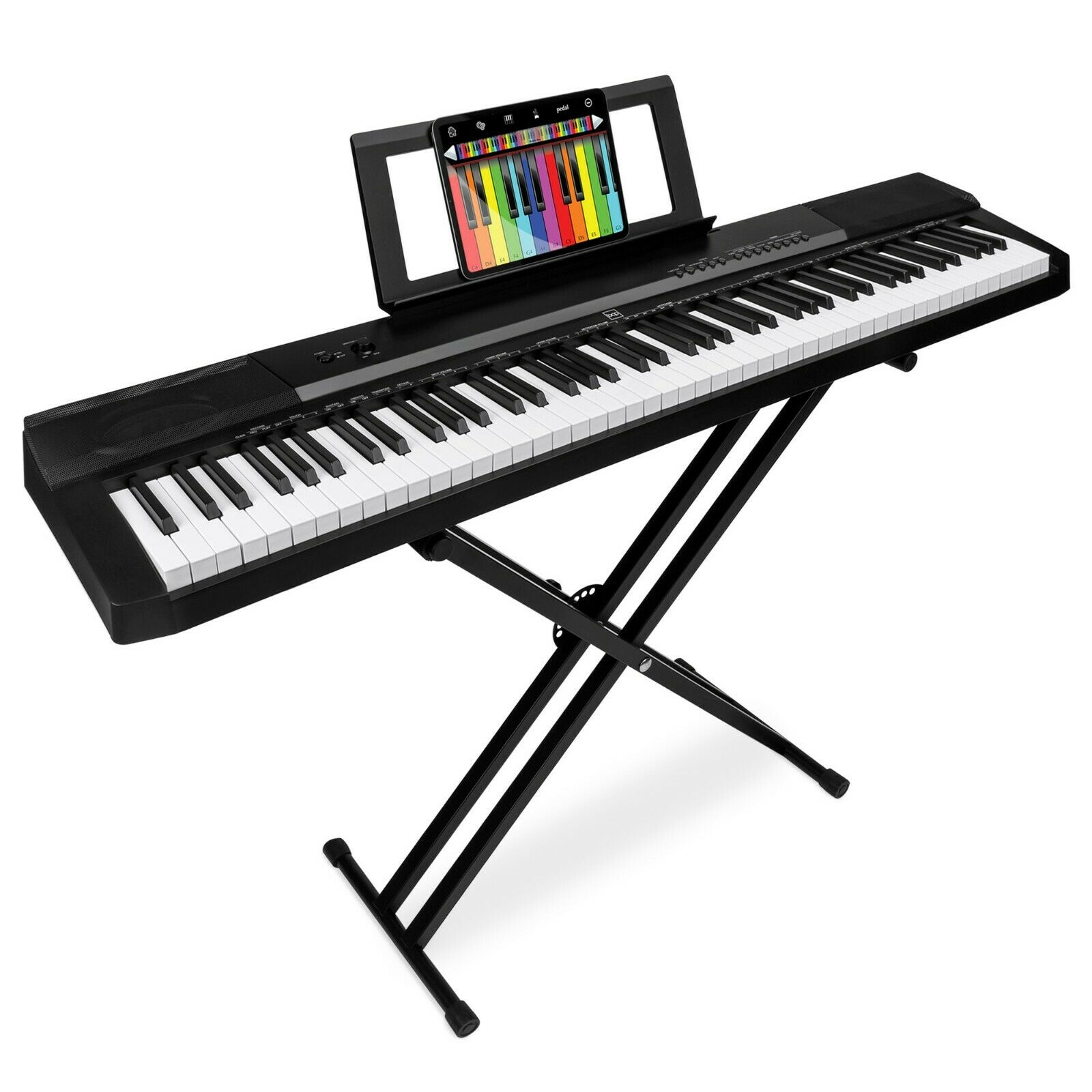 88-Key Piano Set Digital Full Size Sustain Pedal Stand Keybo