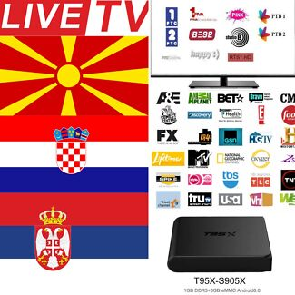 INTERNATIONAL IPTV BOX INDIA ARABIC EUROPE GREEK TURKEY SERBIA NO SUB