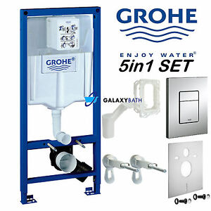 GROHE RAPID SL FRESH 5in1 TOILET CISTERN WC FRAME SKATE PLATE 38827000 CONCEALED