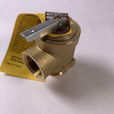 Watts Water Pressure Safety Relief Valve 34
