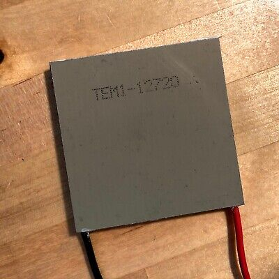 Tec1-12720 Aluminum Plate Large 20a Thermoelectric Peltier Cooler Module 5050mm