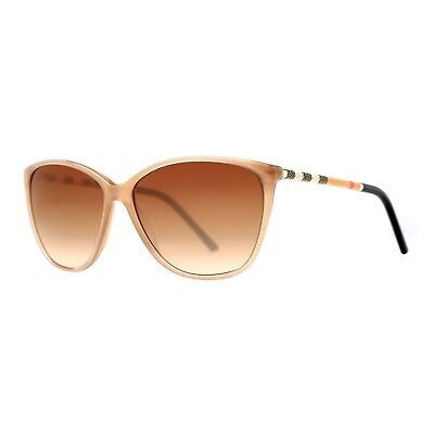 New in Box Burberry Sunglasses BE4117 Butterfly Cat Eyes Beige Sand 713132405604 - Cats In Sunglasses