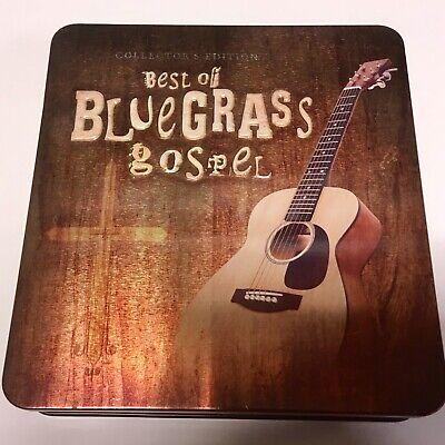 The Best Of Bluegrass Gospel 3 CD Tin Box Set NM US RARE Various 2007