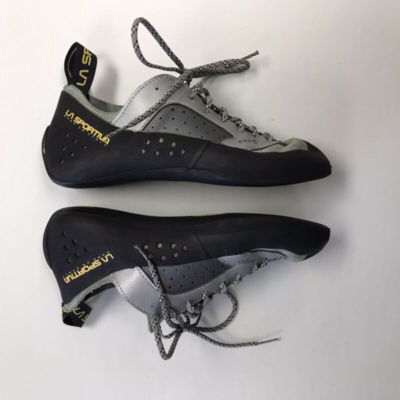 La Sportiva Nago Rock Climbing Shoes Vibram XSedge Women's 8 Men's 7