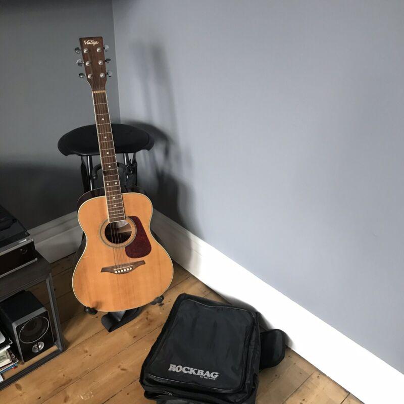 Vintage Acoustic Guitar Starter Kit
