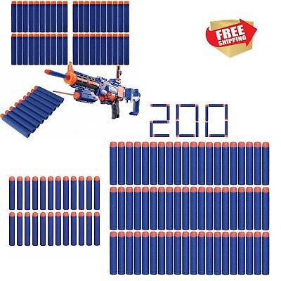 Bullet Nerf Darts 200PCS Soft Darts Toy Rifle Gun Kids Action Game Gift - Nerf Guns Games