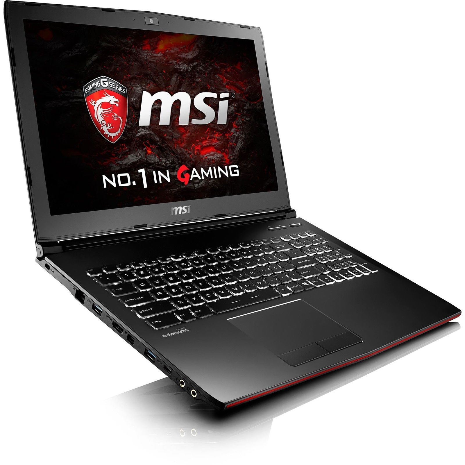 "MSI GP62MVR Leopard Pro-218 15.6"" Gaming i7-6700HQ, 1TB 16GB DDR4 nVIDIA GTX1060"