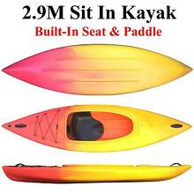 Brand new 2.9M sit in kayak with built in seat and paddle Riverwood Canterbury Area Preview