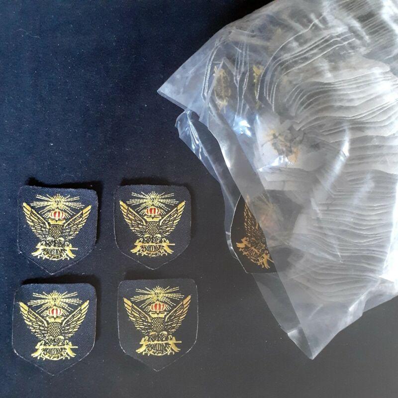 Freemasons Masonic Double Eagle Patch Lot of 200