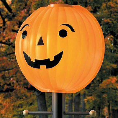 Halloween Pumpkin Lamppost Jacko Lantern Lampshade Cover Halloween Decor (Pumpkin Lamp Post Cover)