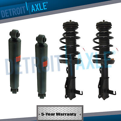 All 4 New Complete Front Struts  Rear Shock Absorbers for Nissan Pathfinder