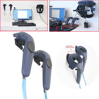 Stand Virtual Reality Wall Mount Hook Parts for HTC Vive/Pro Headset/Controllers